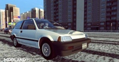 Honda Civic III – City Car Driving [1.2.5]